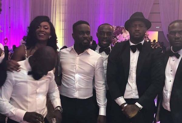 Photo of Photos from Sarkodie and Tracy's White wedding
