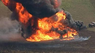 Pipeline Explosion 390x220 - Gas Pipeline Explodes In Ogun State