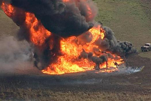 Photo of Gas Pipeline Explodes In Ogun State