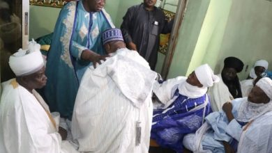 Saraki conferred with Wazirin Ilorin title