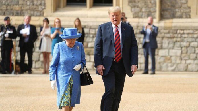 Donald Trump Meets Queen Elizabeth II - OkayNG News