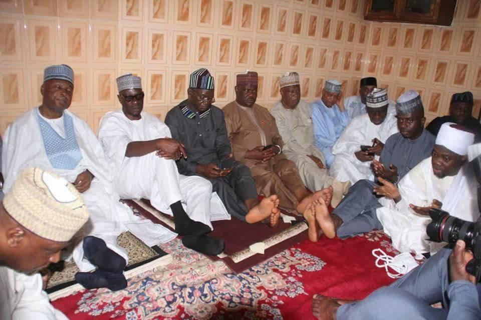 PHOTOS: Wike, Ortom, Others Meet Saraki In Kwara