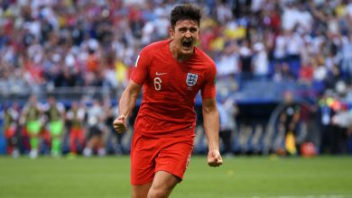 harry maguire cropped ofa4eq8duou81i6tdfcdrfmik 390x220 - VIDEO: Sweden 0-2 England (2018 World Cup) Highlights