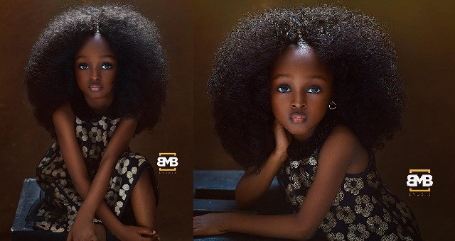 Photo of Meet Jare, the Five-year-old Nigerian Girl Who Is Named 'World's Most Beautiful Girl'