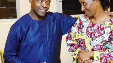 osinbajo and wife in love 390x220 - 'I Found A Girl Beautiful And Sweet Many Years Ago' Osinbajo Celebrates Wife On Her Birthday