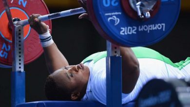 powerlifting 390x220 - Nigeria to Host 2019 World Para Powerlifting Championships