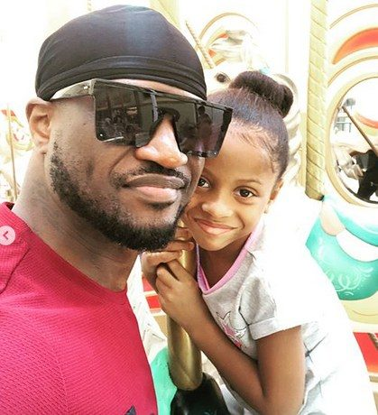 PHOTOS: Peter Okoye spend quality time with his kids - OkayNG News
