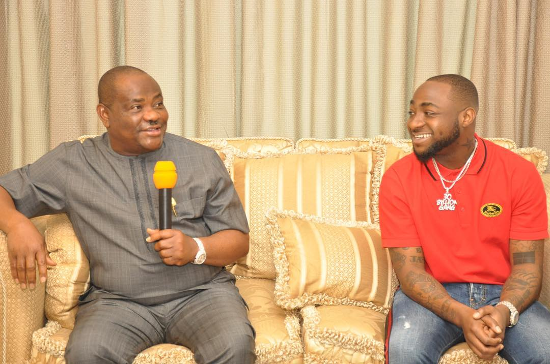 39079973 451692478669515 8353822162221531136 n - PHOTOS: Governor Wike Hosts Davido And His Crew At Rivers Government House