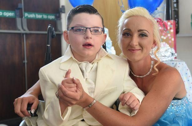 Photo of Seven-year-old Boy Marries Mother In Lavish Wedding