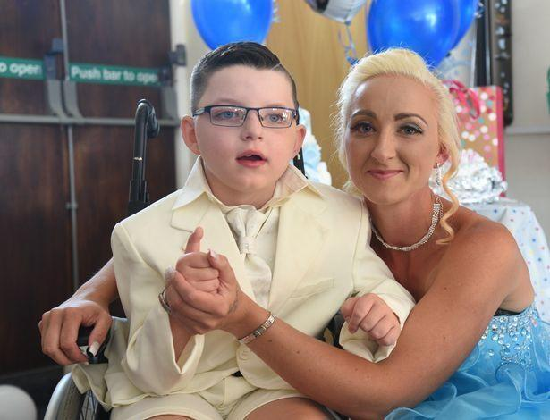 Boy Marries Mother 1 - Seven-year-old Boy Marries Mother In Lavish Wedding