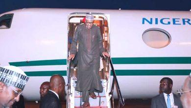 Buhari Arrives 390x220 - President Buhari Returns From London Vacation