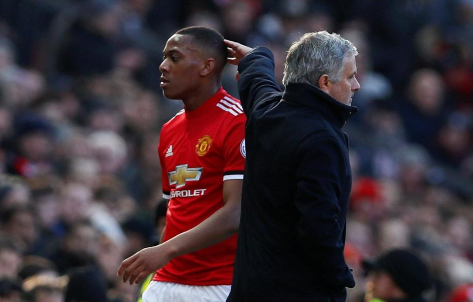 Jose Mourinho Confirms Anthony Martial Was Fined For Leaving US Tour - OkayNG News