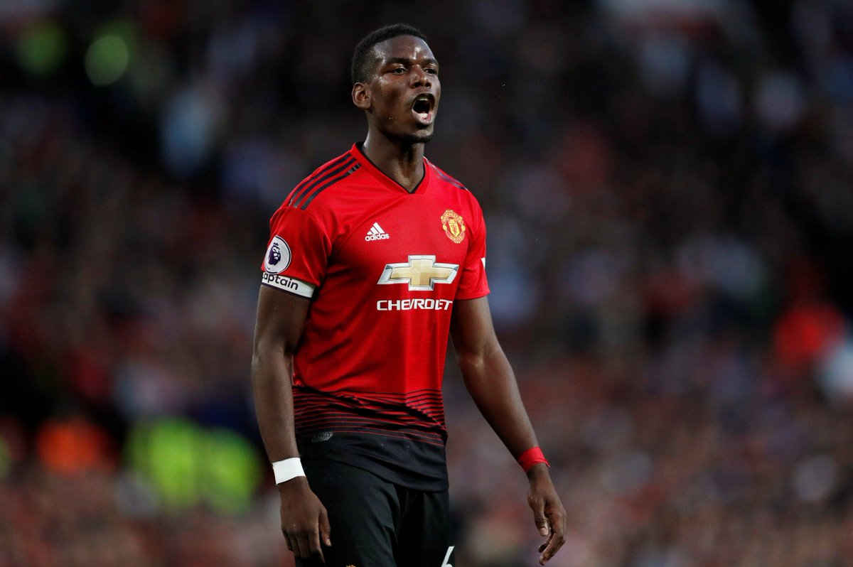 Paul Pogba To Captain Manchester United Against Brighton - OkayNG News