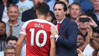 Dk8tyHeVAAEPb V 390x220 - Unai Emery disclose what the club will do to Mesut Ozil after losing 3-2 to Chelsea