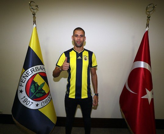 Photo of Fenerbahce sign Leicester City striker Islam Slimani