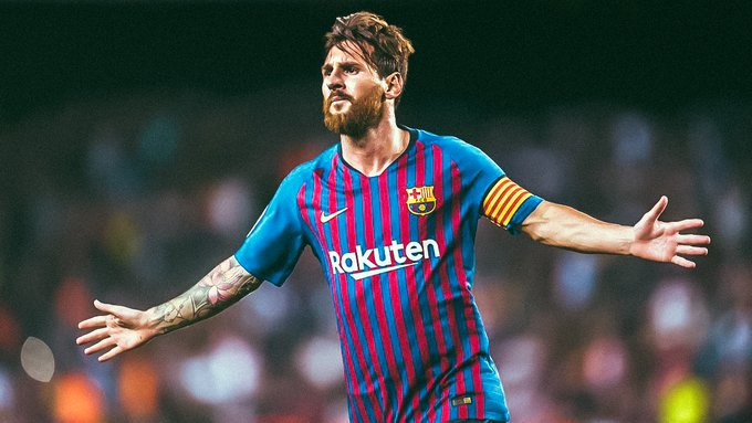 Ernesto Valverde changes Lionel Messi's position - OkayNG News