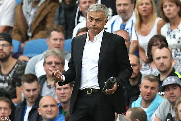 Why we lost to Brighton - Jose Mourinho reveals - OkayNG News