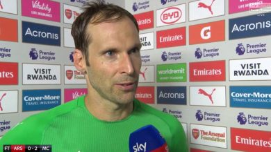 DkanNUfWwAAD05e 390x220 - Why we lost to Manchester City – Arsenal goalkeeper, Petr Cech