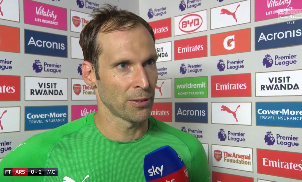 DkanNUfWwAAD05e - Why we lost to Manchester City – Arsenal goalkeeper, Petr Cech