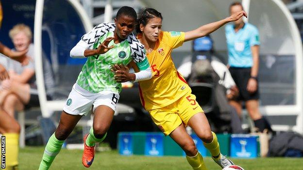 Super Falconets through to the quarter-finals of the U-20 Women's World Cup - OkayNG News