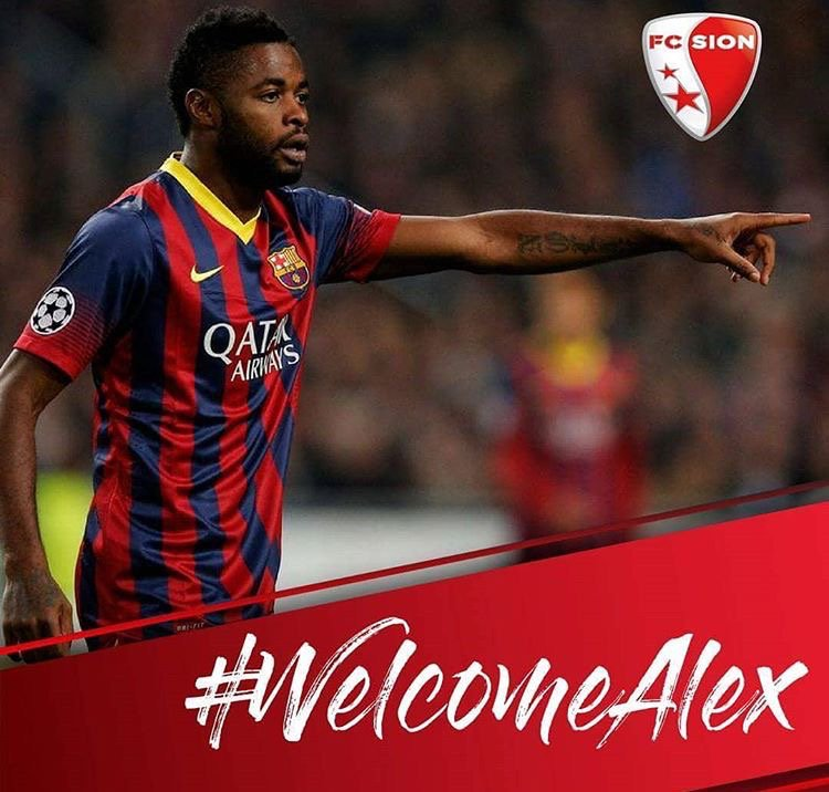 Former Arsenal and Barcelona midfielder Alex Song joins FC Sion - OkayNG News