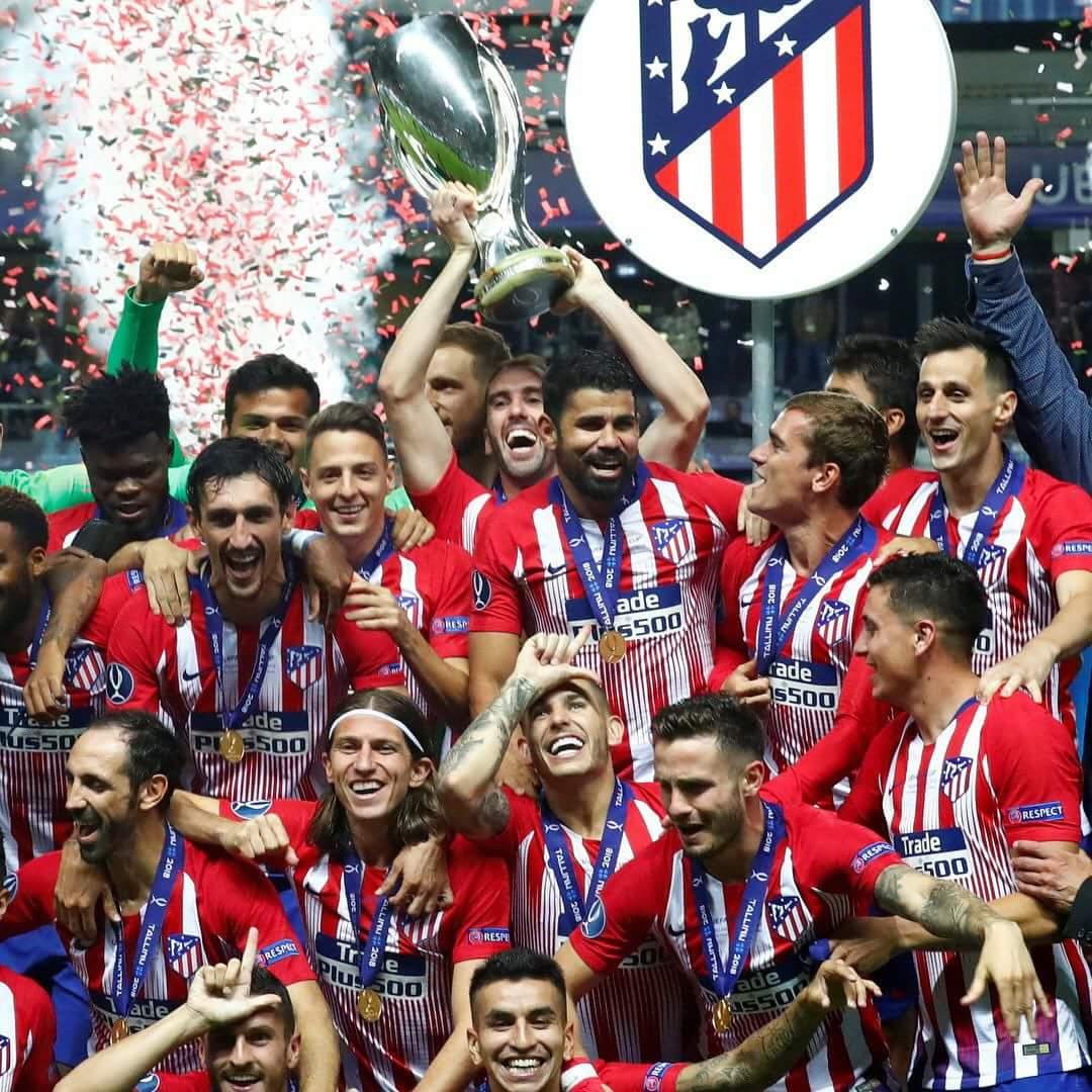Uefa Super Cup: 4 Atletico Madrid (UEFA Super Cup