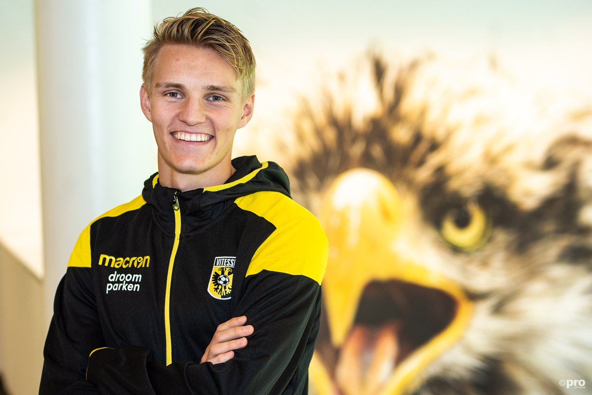 DlIXCQxXcAEMG 6 - Martin Ødegaard joins Vitesse Arnhem From Real Madrid