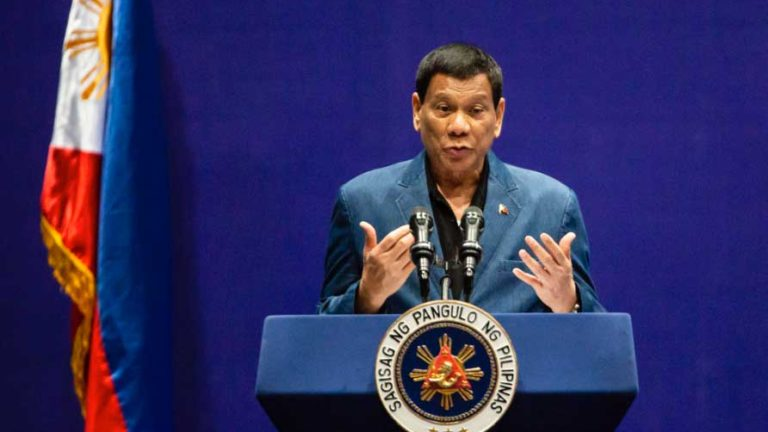 Photo of Philippines President Duterte Sacks 20 for Fraud in Military Medical Supplies