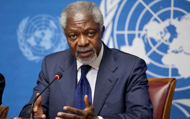 Photo of Former UN Secretary General Kofi Annan Is Dead