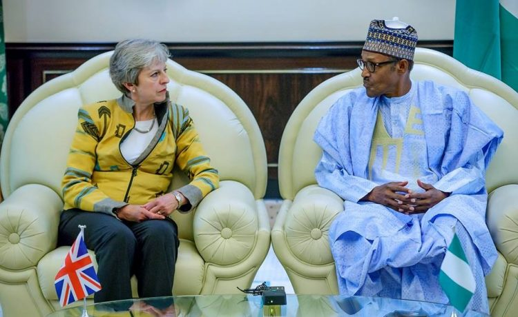 Theresa May Visits Nigeria, Meets President Buhari - OkayNG News