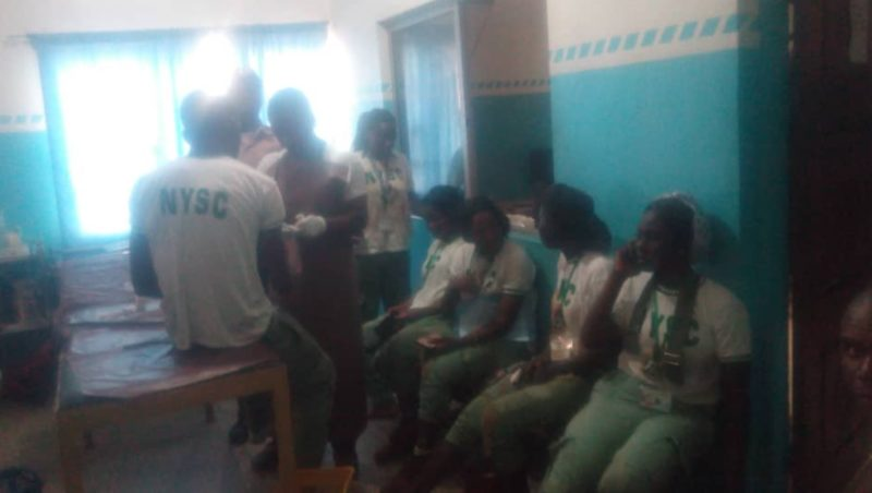 NYSC Hospital - 37 Corps Members Involved in Car Crash After Leaving Orientation Camp In Ogun