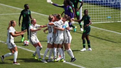 Nigeria Vs Germany at 2018 FIFA U 20 Women s World Cup 390x220 - U-20 Women World Cup: Nigeria Lose Opening Match Against Germany