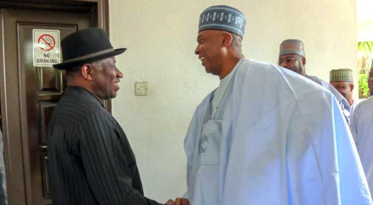 Saraki Meets Jonathan, Reason of Meeting Revealed - OkayNG News