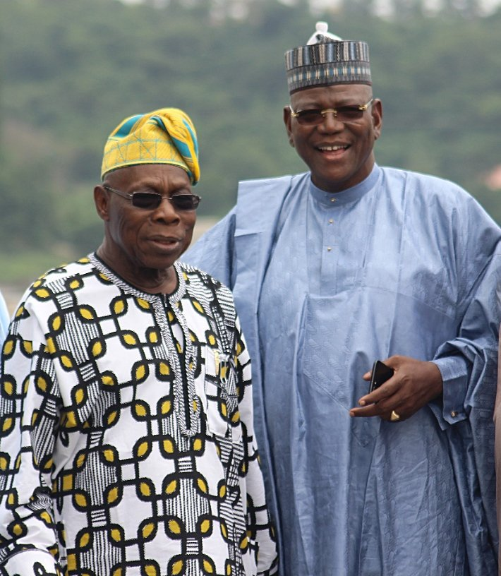 Photo of PHOTOS: Sule Lamido Meets Obasanjo Over His 2019 Presidential Bid
