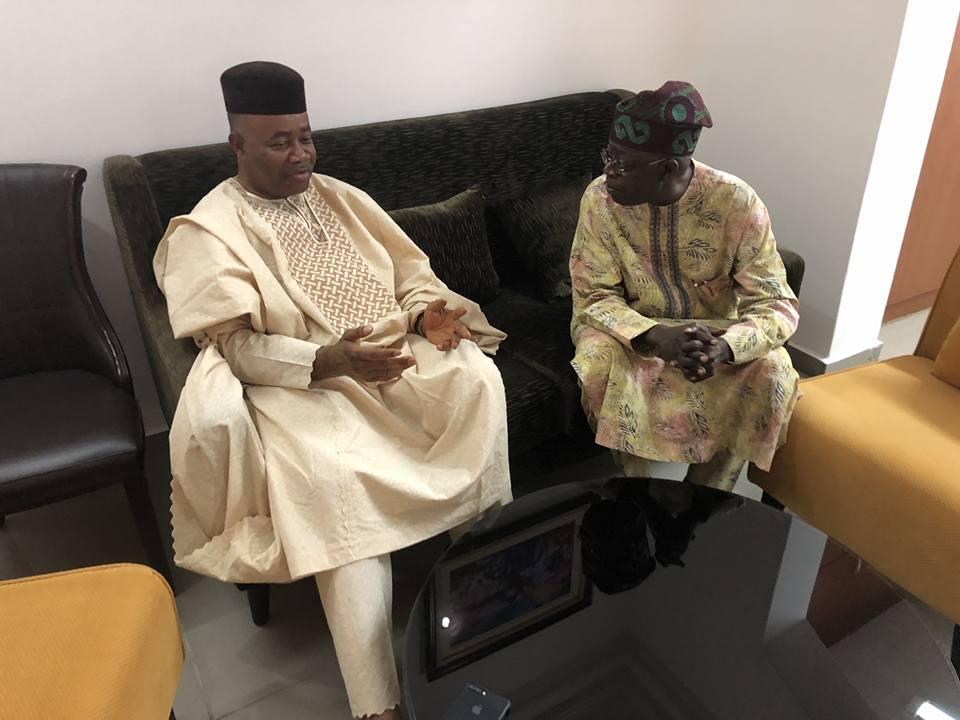 Tinubu Akpabio 1 - PHOTOS: Senator Akpabio Meets with Tinubu In Abuja