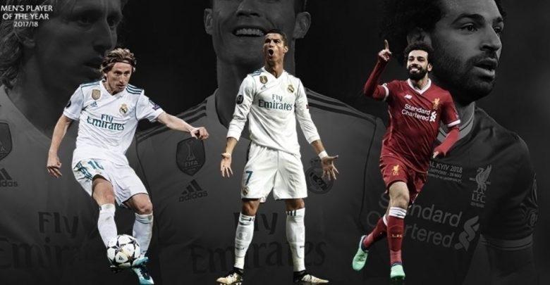 Photo of UEFA Shortlist Ronaldo, Modric, Salah for 2017/18 Player Of The Year Award