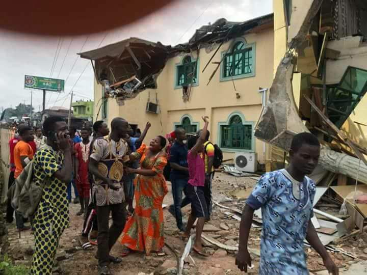 PHOTOS: Governor Ajimobi Demolishes Yinka Ayefele's Radio Station In Ibadan - OkayNG News