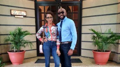 bankyadesua 390x220 - Lovely photos of Banky W and Adesua Etomi as they step out together