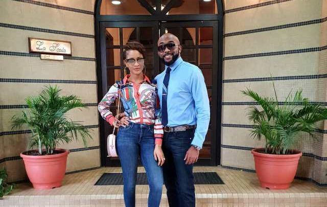 Photo of Lovely photos of Banky W and Adesua Etomi as they step out together