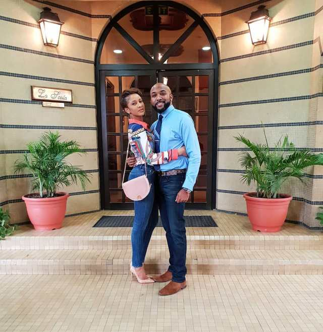 Lovely photos of Banky W and Adesua Etomi as they step out together - OkayNG News