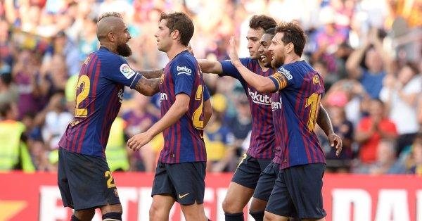 VIDEO: Barcelona 3 – 0 Boca Juniors (Joan Gamper Trophy) Highlights - OkayNG News