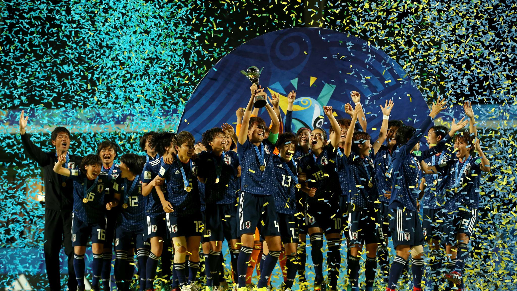 Japan lift first ever U20 Women World Cup