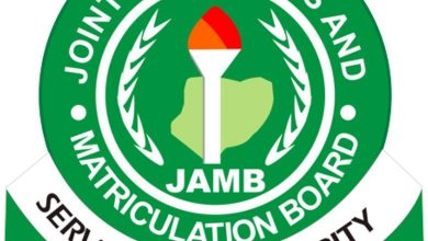 jamb 390x220 - 2019 UTME: JAMB cancels results of two CBT centres in Abia