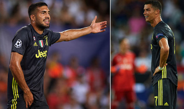 1020275 1 - Emre Can Reveals Why Ronaldo Received Red Card