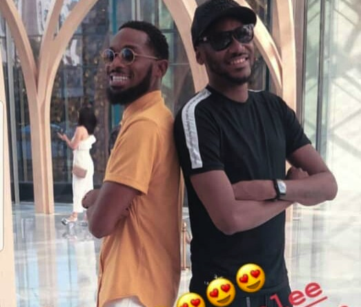 Photo of PHOTOS: D'Banj, 2Baba In Dubai Having Fun with their Wives, Lineo and Annie