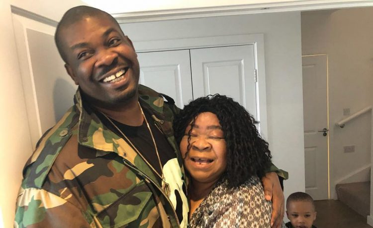 Don Jazzy and his Mother