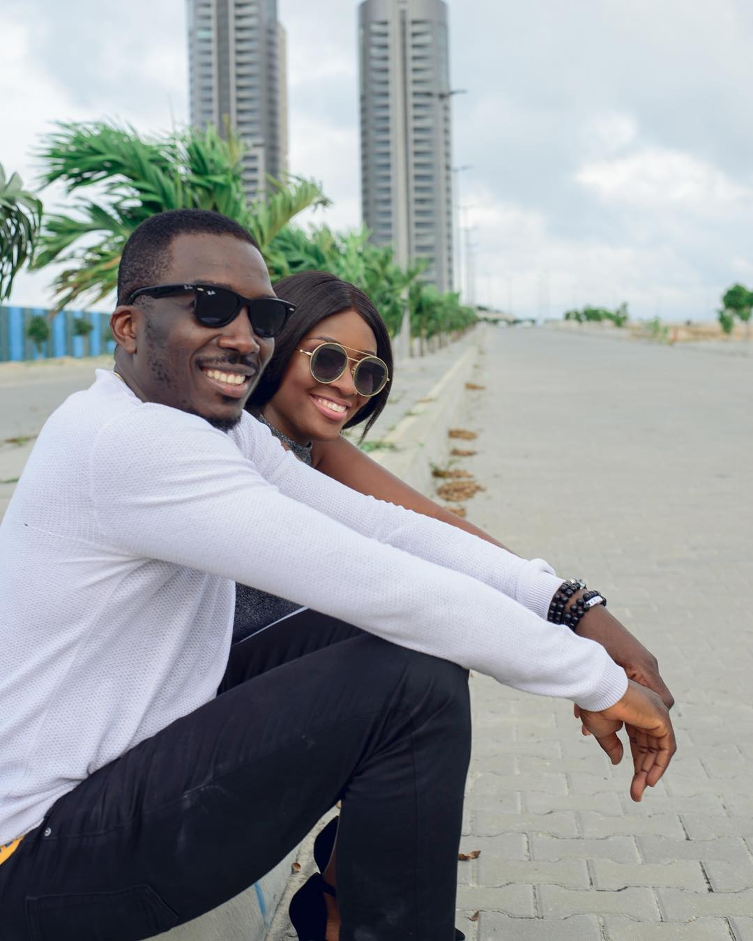 Photo of Bovi And His Wife, Asimonye Ugboma Celebrate 9th Wedding Anniversary [See Photos]
