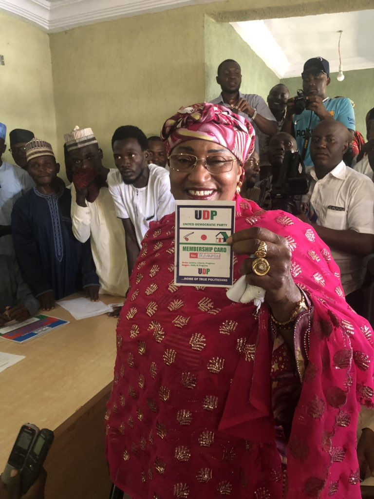 Photo of Aisha Alhassan Emerges UDP Candidate for Taraba Governorship Election In 2019