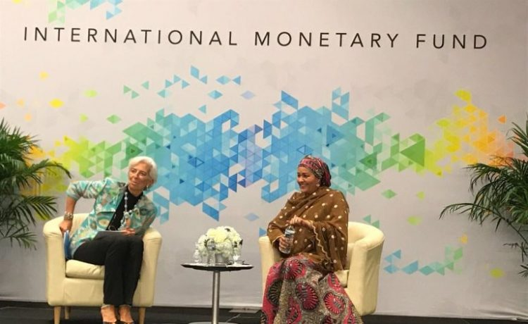 Ngozi Okonjo-Iweala Spent Years to Get Nigeria Out of Debt, But We Are Back There - Amina Mohammed - OkayNG News