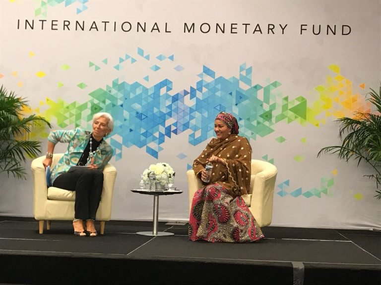 Ngozi Okonjo-Iweala Spent Years to Get Nigeria Out of Debt, But We Are Back There - Amina Mohammed